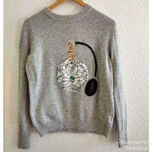 H&M Sequin Design Sweater Size XSmall